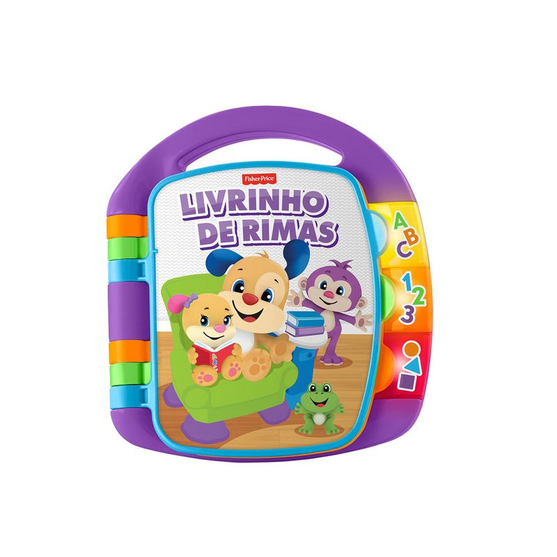 6133282_Fisher-Price-Brinquedo-para-Bebe-Aprender-e-Brincar-Livro-de-Rimas_1_Zoom