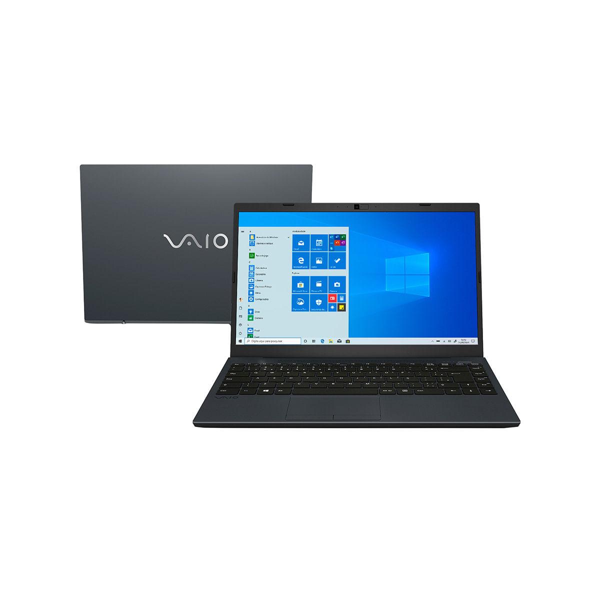 Notebook - Vaio Vjfe42b0541h I7-10510u 1.80ghz 16gb 256gb Ssd Intel Hd Graphics Windows 10 Home Fe14 14