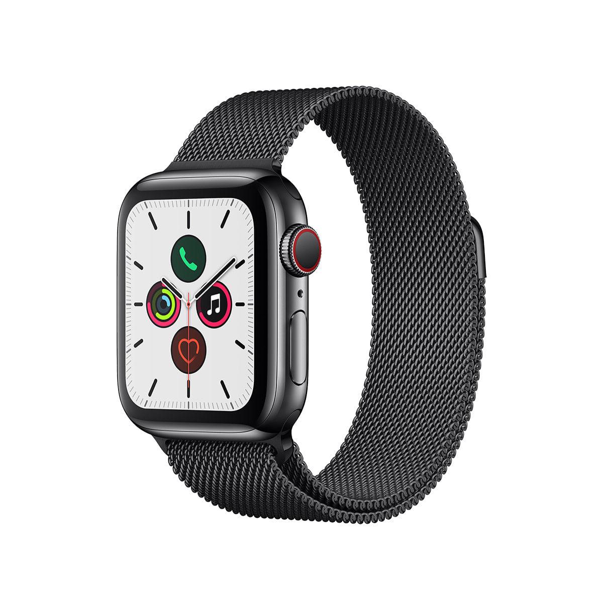 Imagem de Apple Watch Series 5 Cellular + GPS 40 mm