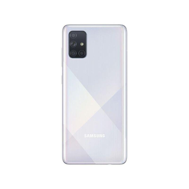 Celular Smartphone Samsung Galaxy A71 A715f 128gb Prata - Dual Chip