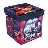 Caixa Organizadora com Tampa em MDF 2 Peças Vermelho Zippy Toys 6177