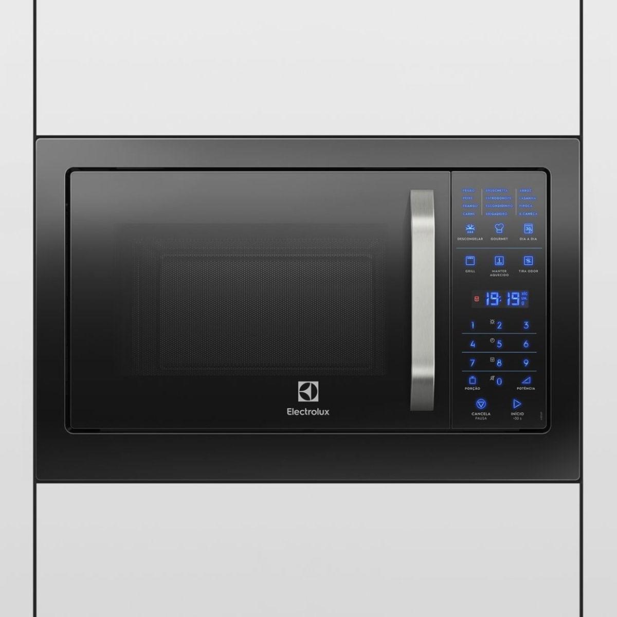 Imagem de Micro-ondas Electrolux de Embutir 28 Litros Preto - MB38P