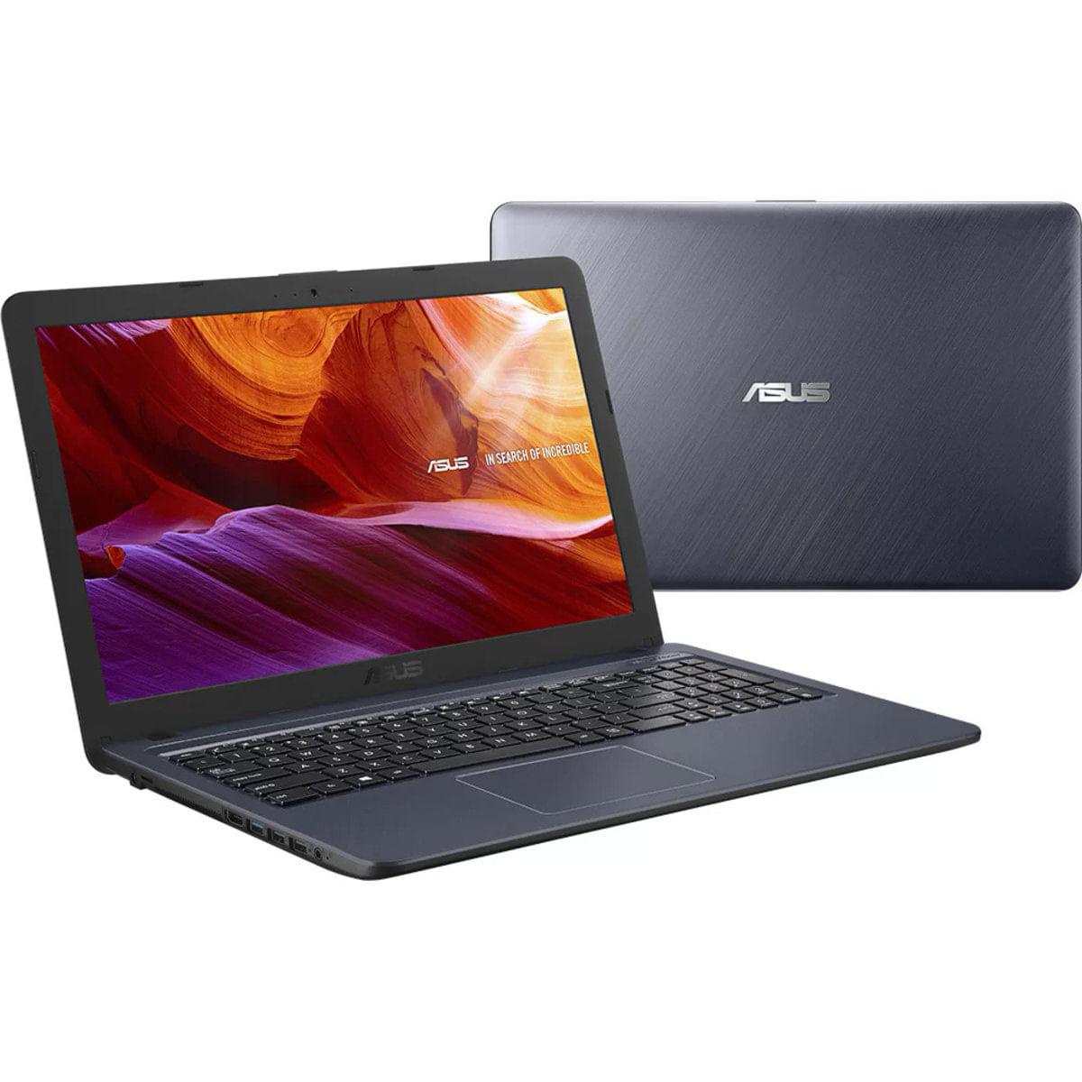 """Notebook - Asus X543ua-go3091t I5-6200u 2.30ghz 8gb 1tb Padrão Intel Hd Graphics Windows 10 Home Vivobook 15,6"""" Polegadas"""