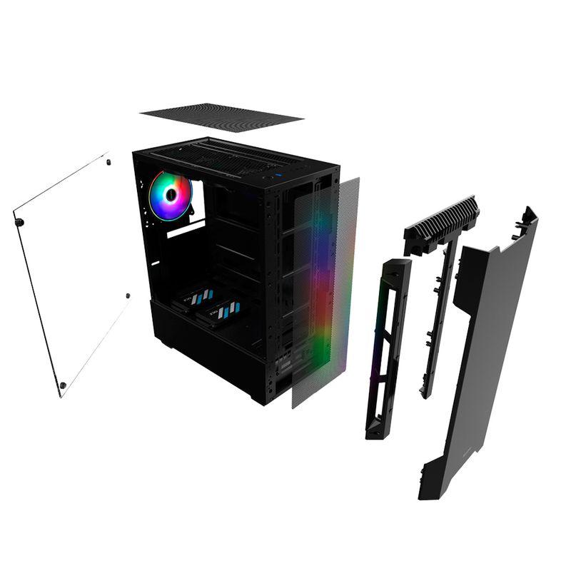 Desktop Neologic Gamer Nli81140 Amd Ryzen 3 2200g 3.50ghz 8gb 1tb Amd Radeon Vega 8 Windows 10 Pro Sem Monitor