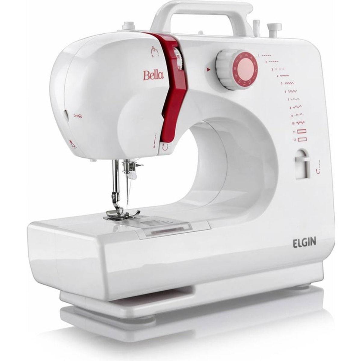 Imagem de Máquina de Costura Elgin Bella Doméstica 6 Pontos Bivolt - BL1200