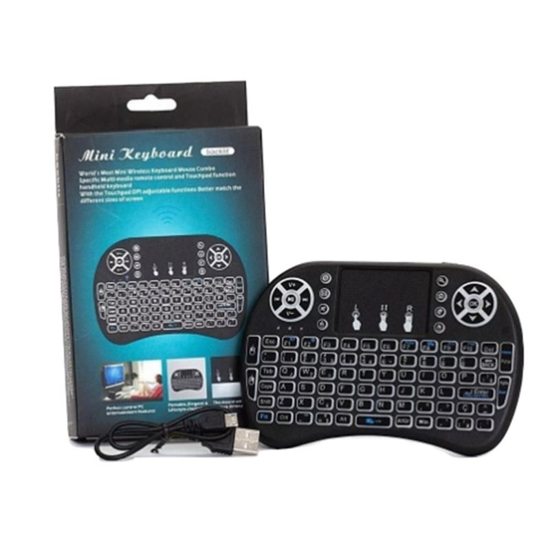 Teclado Usb Mini Touchpad Smart Microsoft