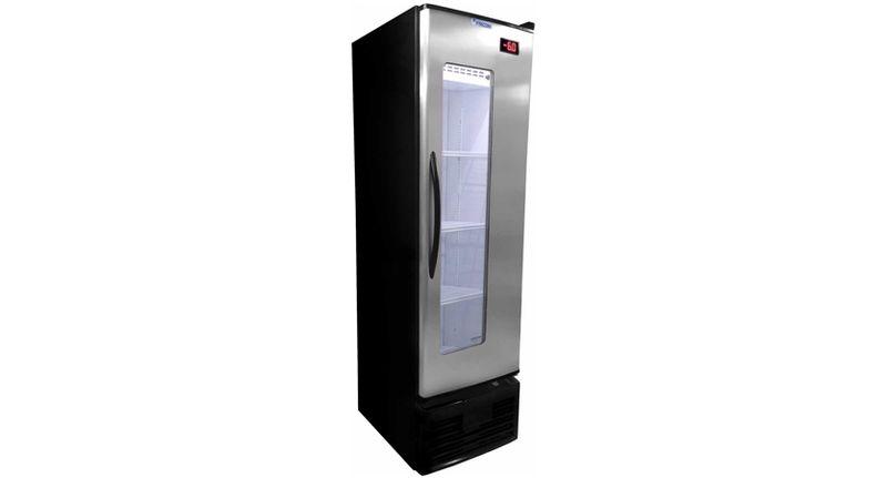 Geladeira/refrigerador 284 Litros 1 Portas Inox - Fricon - 110v - Vcfc-284ix