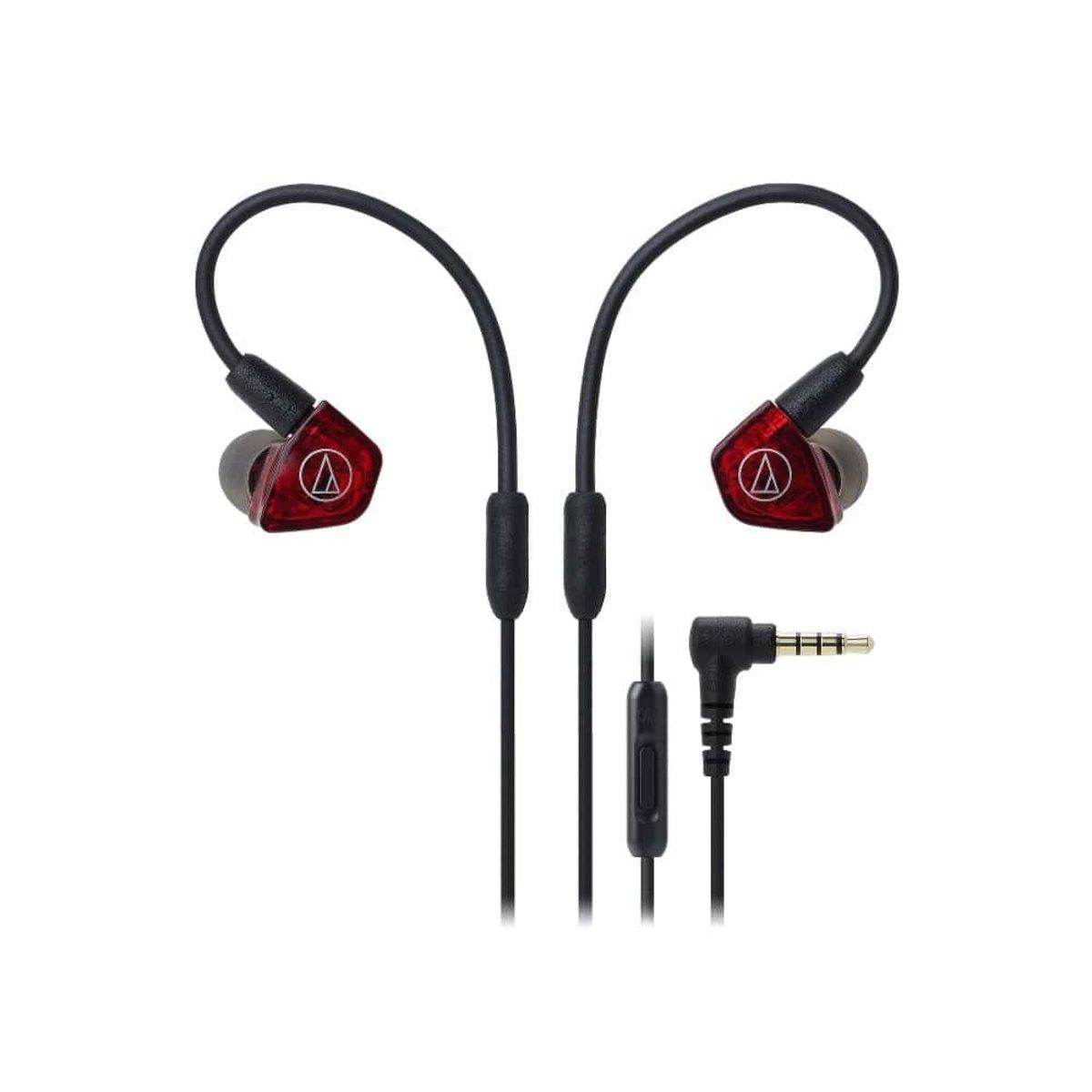 Fone de Ouvido Earphone Mic In-ear Audio Technica Ath-ls200is