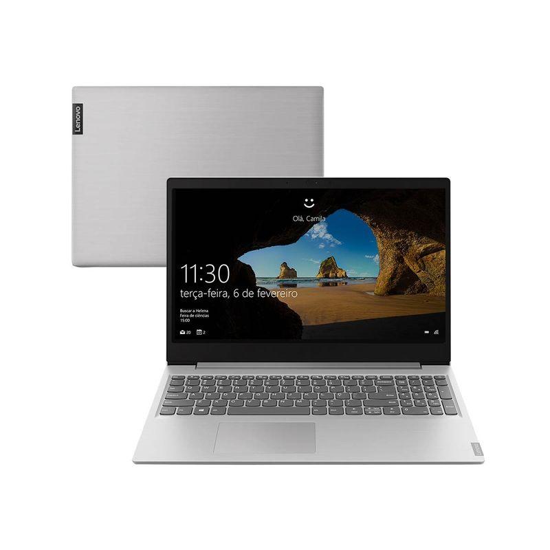 """Notebook - Lenovo 81xm0006br I3-8130u 2.20ghz 8gb 1tb Padrão Intel Hd Graphics 620 Windows 10 Home Ideapad S145 15,6"""" Polegadas"""