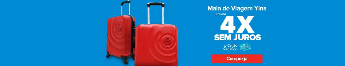 mala de bordo abs vermelha