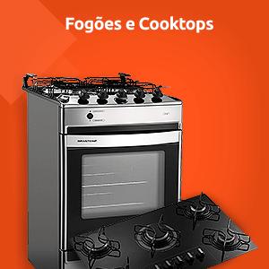 Fogões e Cooktops Brastemp