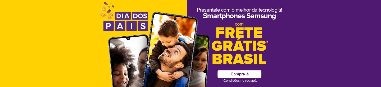 smartphones samsung com frete gratis brasil